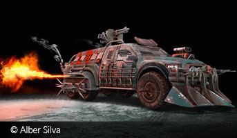 Apocalyptic Pickup by Alber Silva
